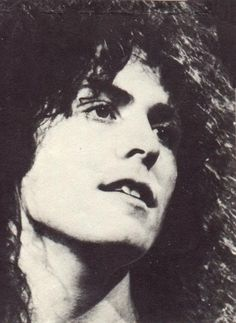Marc Bolan, T Rex. If there must be light in this world, let it be light like this...