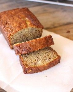 Greek Yogurt Banana Bread....making tonight because there are a bunch of bananas at work that needs something done with... this is now my go to recipe!!!