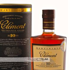 Clément 10 Year Old Grande Réserve Très Vieux Rhum has been aged a minimum of 10 years in a combination of virgin French barriques and re-charred Bourbon barrel