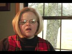 Audrey Wagnon, Self-advocate on Down syndrome. Explains her view of Down syndrome and life lesion for all of us. Full clip from the heartwarming documentary  Dakota's Pride. She is part of  The B.E.S.T group.