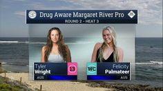 2016 Drug Aware Margaret River Pro (W): Round 2, Heat 3 Video