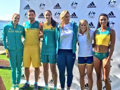 Sally Pearson and co unveils Rio uniforms