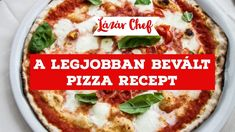 A pizza, ami nekem a eddig a legjobban bevált! Pizza T, Tacos, Ethnic Recipes, Youtube, Food, Essen, Meals, Youtubers, Yemek