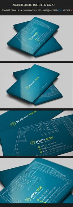 Architecture Business Card on Behance