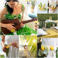 Island Party Theme #party