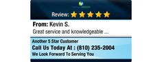 Great service and knowledgeable