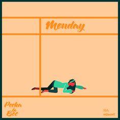 Montag, der Start in die Woche