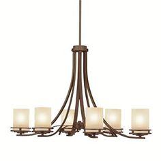 Check out the Kichler Lighting 1673OZ Hendrik Casual 6 Light Chandelier priced at $605.00 at Homeclick  sc 1 st  Pinterest & Shop Kichler Lighting Diana 5-Light Olde Bronze Chandelier at ... azcodes.com