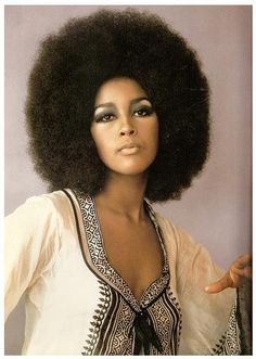 Marsha Hunt's Afro Circa 1968