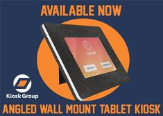 AVAILABLE NOW! The Angled Wall Mount Tablet Kiosk. BIG impact in a small footprint!! Built to last! Designed for long-term use, the Angled Wall Mount Tablet Kiosk is a rugged mounting solution for a wide variety of public spaces: Scratch and fingerprint resistant Shatterproof thermoplastic tablet enclosure Heavy-duty steel mounting bracket, protected by a durable powder coat non-porous surfaces that are easy to disinfect and sanitize. Visit our website to find out more!