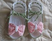 Newborn or Reborn Doll Thread Crochet Bootie Shoes. PDF Pattern http://www.ravelry.com/stores/sugar-toe-babies