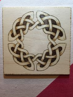 Pyrography Celtic Knot