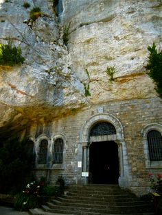 The Grotto Containing the Bones of Mary Magdalene - Sainte Baume, France