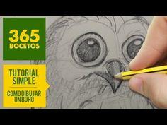 Como utilizar pinceles - Como pintar una lechuza - Claudia Kunze - YouTube