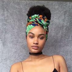 Box Braids Hairstyles, Bandana Hairstyles Short, Natural Afro Hairstyles, Hair Wrap Scarf, Hair Scarf Styles, Curly Hair Styles, Natural Hair Styles, Perm, Cabello Afro Natural