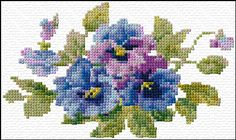 forget-me-not  (there are a lot more flower designs on this site)