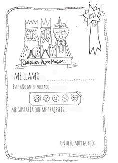 Carta als Reis Mags Christmas Town, Kids Christmas, Christmas Crafts, Spanish Classroom, Teaching Spanish, Spanish Holidays, Teacher Problems, Celebration Around The World, True Meaning Of Christmas