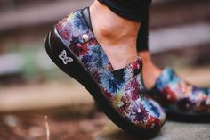 Alegria Shoes Keli PRO in 'Bloomies' at Alegria Shoe Shop