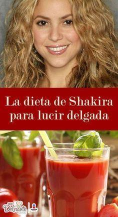 la dieta de shakira   CocinaDelirante Health Diet, Health Fitness, Healthy Life, Healthy Eating, Diet Recipes, Healthy Recipes, Workout Bauch, Detox Soup, Atkins Diet