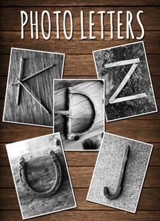 Includes 61 custom, one-of-a-kind black & white photo letters! Each letter has at least one or more options to choose from. ***All letters are formatted and properly sized for high resolution printing (300 dpi). Once you've purchased the letter files, feel free to print them as many time as you'd like! **Check out the same letters in Color, click here!.**Check out my Chevron Letter clip art, click here!.Thanks for looking!
