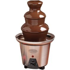 Nostalgia Chocolate Fountain ($40) ❤ liked on Polyvore featuring home, kitchen & dining, small appliances and kitchen