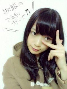乃木坂46 (nogizaka46)  Fukagawa Mai (深川 麻衣) mannequin symbol ♥ ♥ ♥