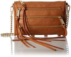 Rebecca Minkoff Mini 5 Zip, Soft Tan -- You can find more details at