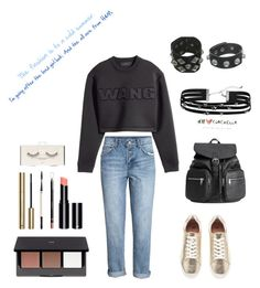"""""""The cold summer"""" by maria-matilde-ibsen on Polyvore featuring H&M and Jimmy Choo"""