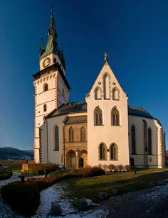 Slovakia, Kremnica - St. Catherine's Church