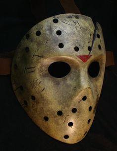 Replica and Custom Fiberglass Hockey Masks