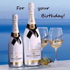 Happy Birthday Happy Birthday Man, Birthday Cheers, Birthday Posts, Birthday Frames, Happy Birthday Messages, Happy Birthday Quotes, Birthday Congratulations, Birthday Greetings, Moet Chandon Ice