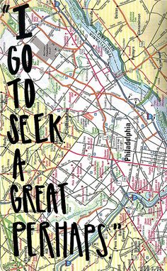 """Why we travel: """"I go to seek a great perhaps"""""""