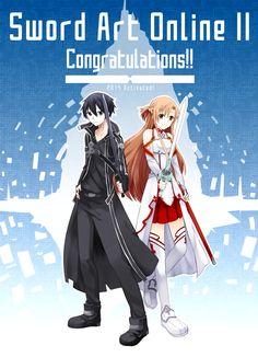 Sword Art Online II Congratulations!! by palmtreehero.deviantart.com on @deviantART