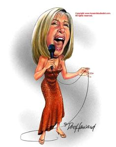 Caricature Collection: Barbara Streisand