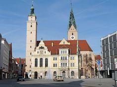 Rathausplatz, Ingolstadt San Francisco Ferry, Notre Dame, Germany, Europe, Explore, Architecture, Building, Travel, Ancient Architecture