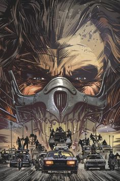 Mad Max: Fury Road - Nux and Immortan Joe #1 by Tommy Lee Edwards *