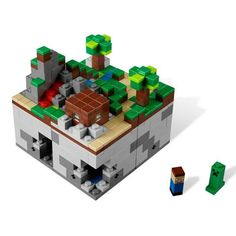 I want to get my little brother this Lego set, it would combine his favorites things in life, legos and minecraft