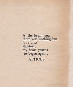 'Stardust' #atticuspoetry #atticus #poetry #poem #loveherwild #love #stardust