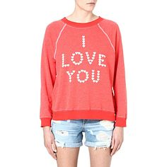 WILDFOX I Love You sweatshirt (Lifeguard