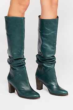 Free People boots are designed to look good with any outfit. Shop our collection of leather boots, knee high boots, and ankle boots for women. Leather Over The Knee Boots, Over The Knee Boot Outfit, Leather Boots, Heeled Boots, Bootie Boots, Shoe Boots, Fashion Boots, Emo Fashion, Curvy Fashion