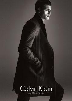 Calvin Klein Collection F/W 2013 Campaign - Matthew Terry by Mert Alas & Marcus Piggott