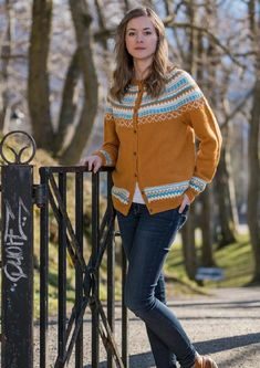The Grete Cardigan Knitting pattern by Knitting Inna