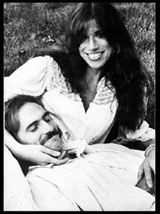 James Taylor and Carly Simon Young married couple way back then ...