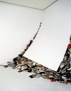 Alicia Martin - Contemporaries, 2002 - I finally ran out of space for my books