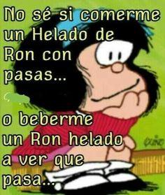Mafalda Funny Spanish Jokes, Spanish Humor, Spanish Quotes, Words Quotes, Wise Words, Life Quotes, Qoutes, Funny Phrases, Funny Quotes