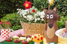 Festa infantil da Chapeuzinho Vermelho minimimo gifts | nmagazine.com.br