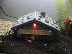 Aquarium Haus Almhütte - Höhle Versteck Deko - LED in 4 Farben | eBay