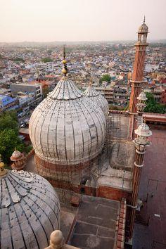 ✮ Top of Jama Masjid Mosque - India