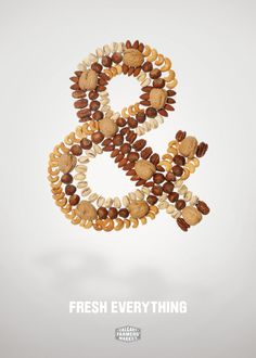 Calgary Farmers' Market: Fresh Everything, & Nuts Advertising Agency: WAX, Calgary, AB Canada #advertising #ad #advertisement