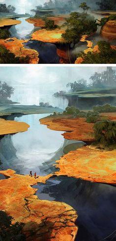 Sergey Kolesov . Concept Art